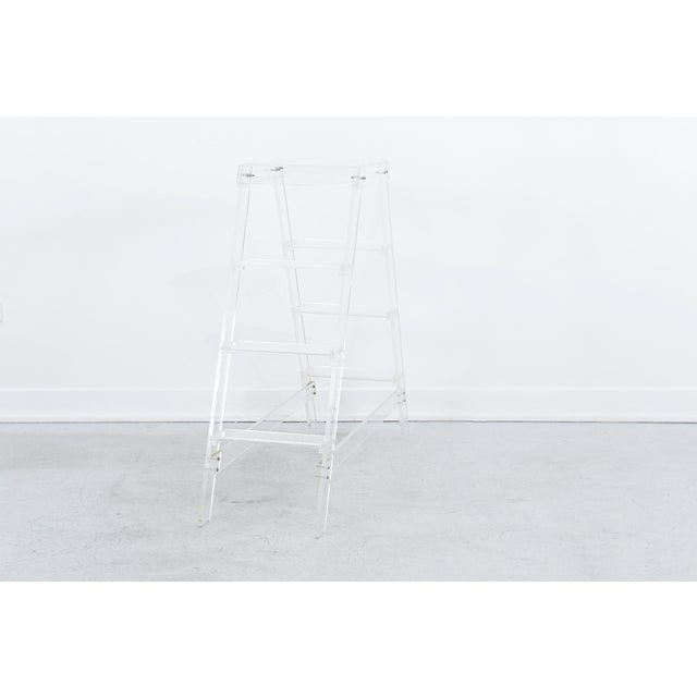 1980s Lucite Ladder For Sale - Image 5 of 7