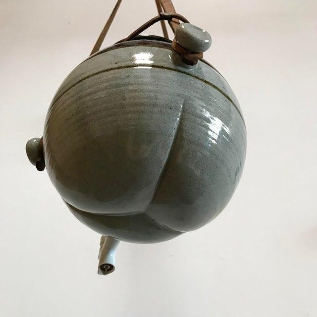 Vintage Hanging Ceramic Water Vessel For Sale - Image 9 of 10