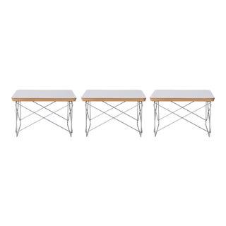 Eames Herman Miller Ltr Side Tables - Set of 3 For Sale