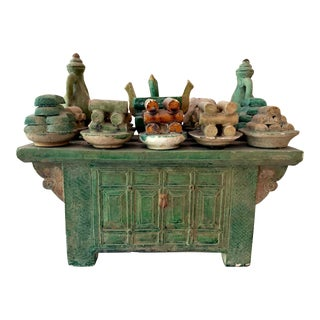 Stoneware Tomb Altar Model Ming Dynasty For Sale