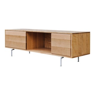 Contemporary Scandinavian SemiBox Credenza For Sale