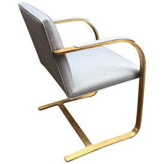 Bronze Flat Bar Brno Chair For Sale