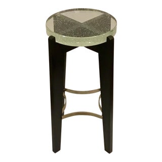 Caracole Prototype Bubble Glass Accent Table For Sale