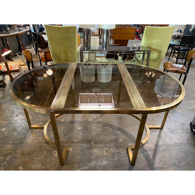 """It's a table. It's a console. It's a table. It is whatever you want it to be, a great Italian design. Diameter 50"""" Demi-..."""