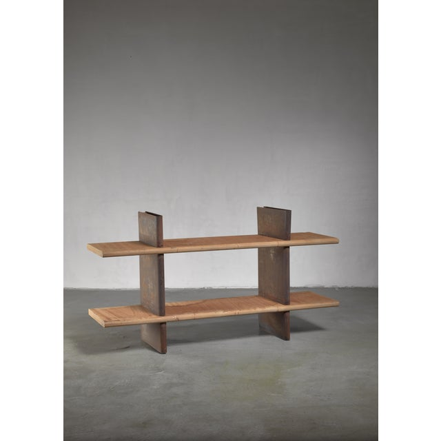 Metal Angelo Mangiarotti Shelves, Italy For Sale - Image 7 of 7