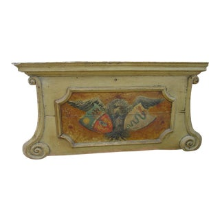 18th Century Painted Overdoor From Nice, France For Sale