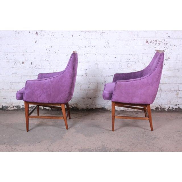 Mid-Century Modern Kipp Stewart for Directional Mid-Century Modern Lounge Chairs - a Pair For Sale - Image 3 of 13