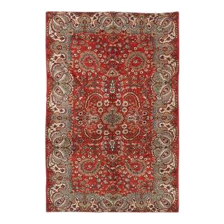 """MELIS Vintage Turkish Rug, 5'6"""" x 8'6"""" feet"""