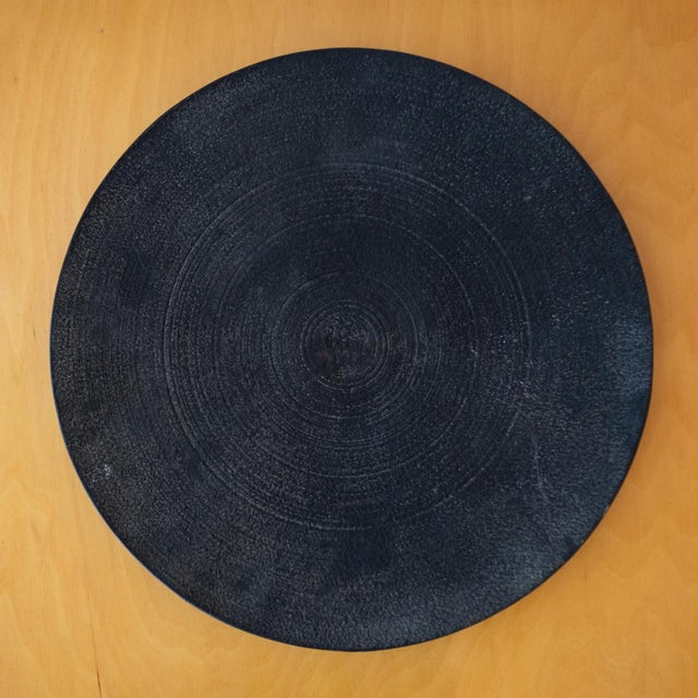 Modernist Japanese Tetsubin Low Iron Bowl, 1960s For Sale - Image 4 of 8