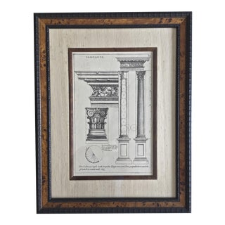 Classical Elemente of Architecture Print Plate #32
