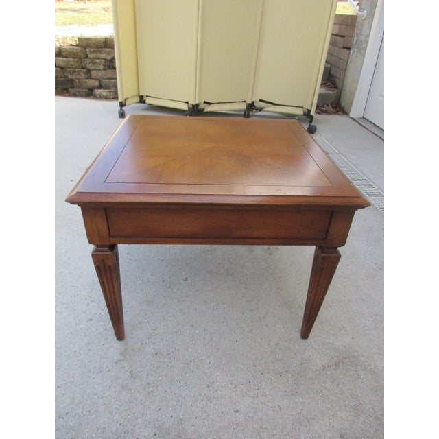 Mid-Century Modern Mid-Century Modern Fine Arts Furniture Company Side Table For Sale - Image 3 of 11