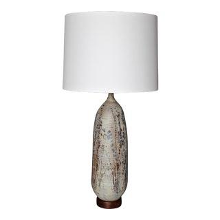 Otto Heino Ceramic Lamp, 1979 For Sale