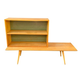 Vintage Paul McCobb for Planner Group Winchedon Mid Century Modern Table With Bookcase For Sale