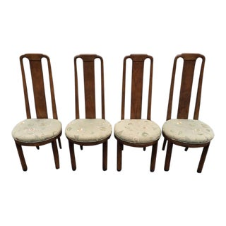 High Back Henredon Dining Chairs - Set of 4