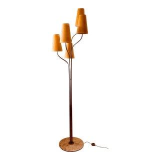 Unusual Italian Tree Form Floor Lamp For Sale