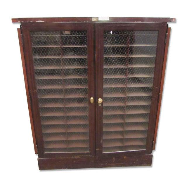 Wood & Metal Cabinet - Image 6 of 9