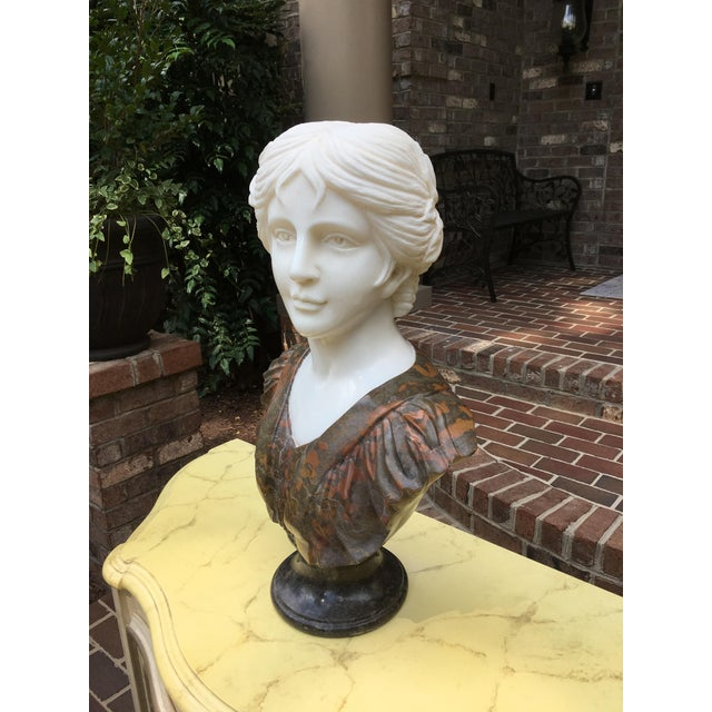 Traditional 1990s Vintage Marble Classical Sculpture For Sale - Image 3 of 9