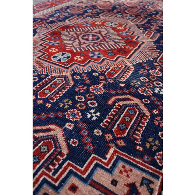 "Vintage Anatolian Turkish Rug - 4'8"" x 7'11"" - Image 5 of 6"