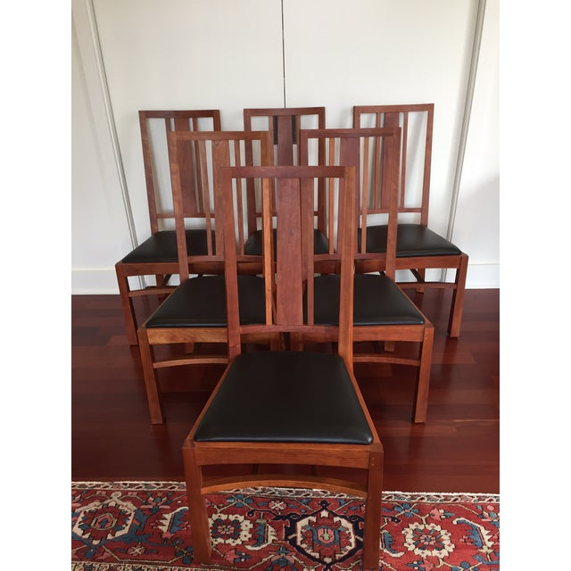 Thomas Moser American Bungalow Chairs - Set of 6 - Image 2 of 6
