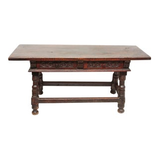 17th Century Walnut Table / Spanish For Sale