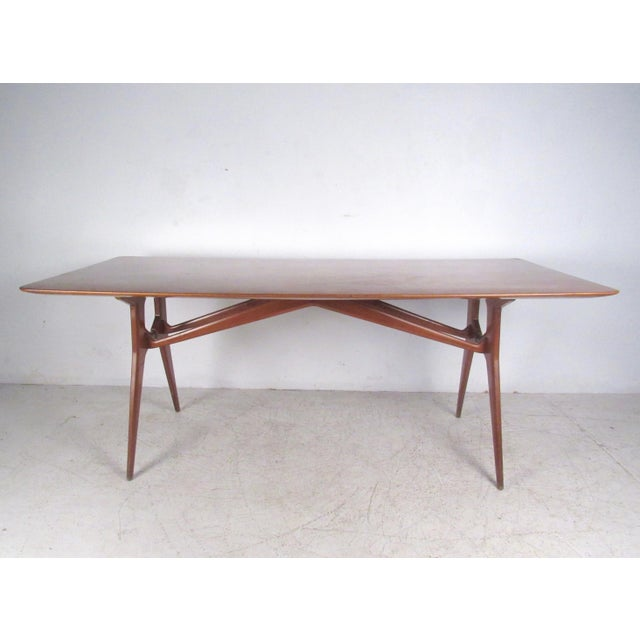 Italian Modern Parisi-Style Dining Table - Image 2 of 11