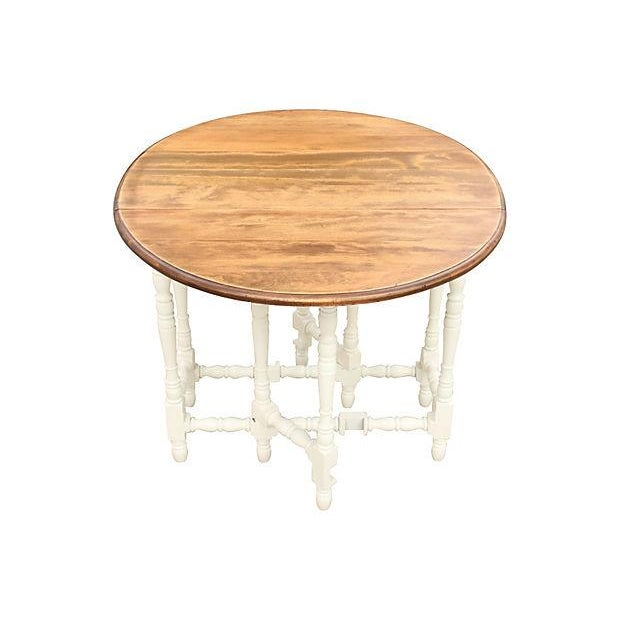Queen Anne-Style Gateleg Table - Image 4 of 7