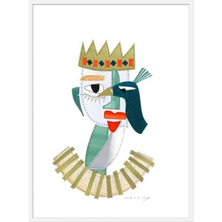 "Large ""Princess Rosseta"" Print by Melvin G., 34"" X 46"" For Sale"