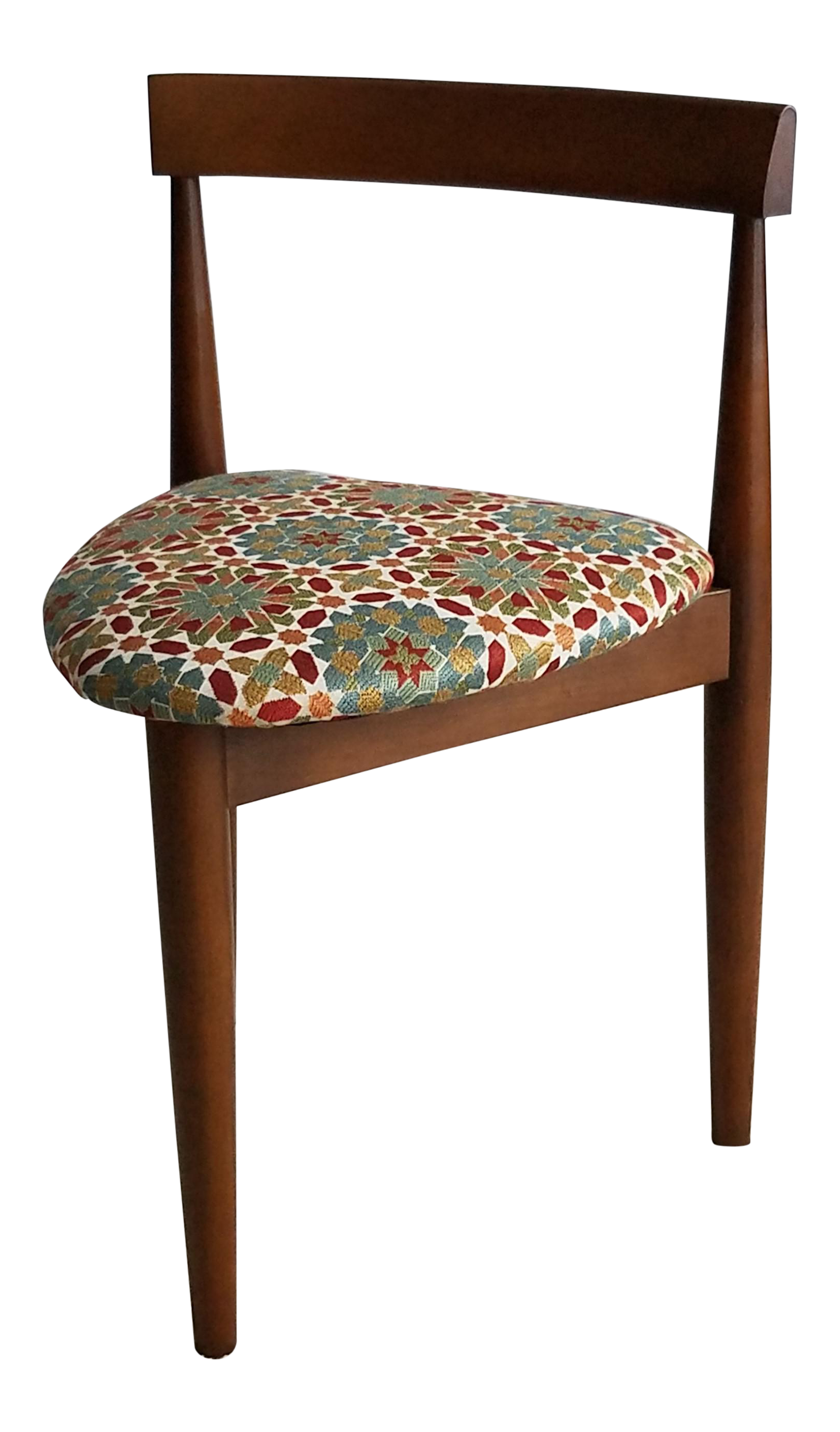 Danish Modern Holabird Three Legged Chair