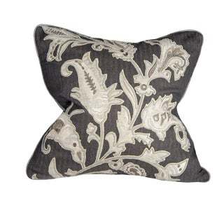 Mid-Century Modern Corded Vine Pillow - 22 X 22 For Sale