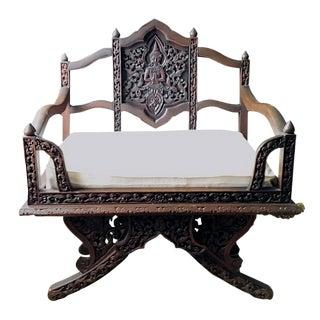 Antique Ornate Thai Howdah Chair