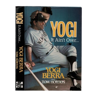 "1989 ""Signed Edition, Yogi: It Ain't Over"" Collectible Book For Sale"