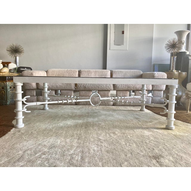 Giacometti Style Coffee Table For Sale - Image 4 of 11