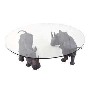 "Connie Foss ""Mighty Rhino"" Coffee Table"