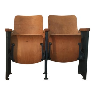 Lucky #17 Folding Stadium Seats - a Pair