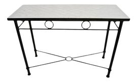 Image of Metal Outdoor Console Tables