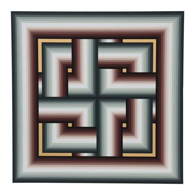 Jurgen Peters Interchange Serigraph For Sale