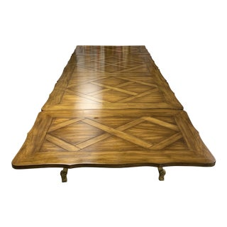Karges Dining Table With Leaf Extensions For Sale