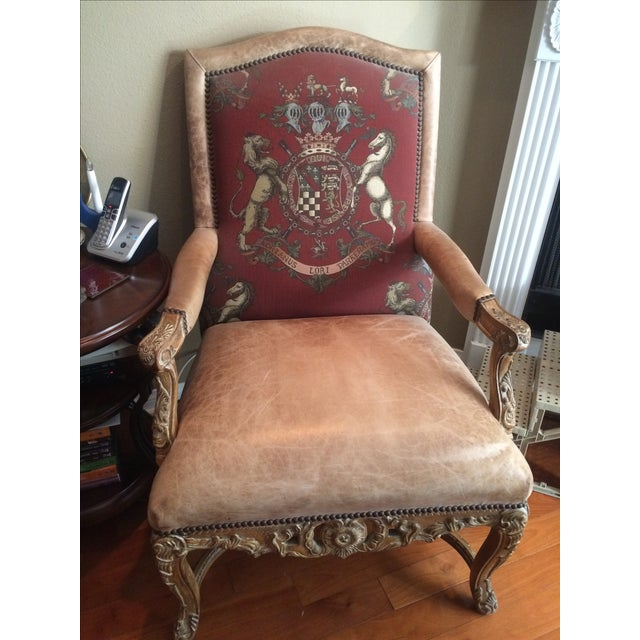 Ralph Lauren Leather Chairs - A Pair - Image 2 of 3