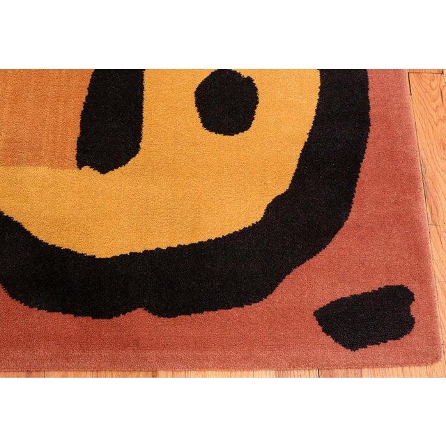 Textile Paul Klee Artist Scandinavian Rug - 4′8″ × 6′6″ For Sale - Image 7 of 13