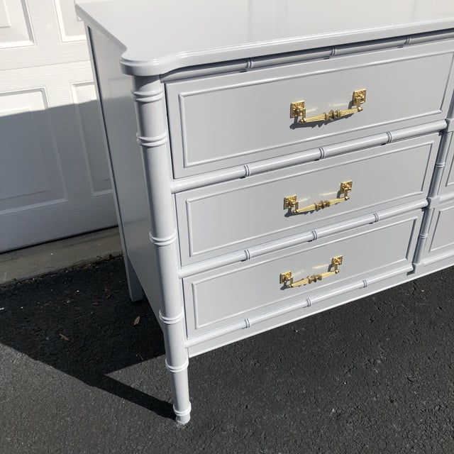 1970s Lacquered Henry Link Dresser For Sale - Image 10 of 12