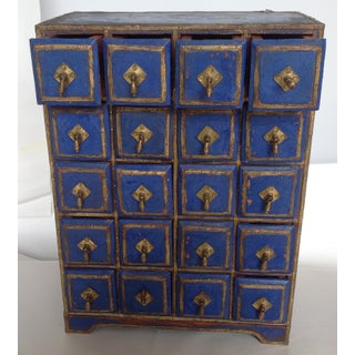 1960s Vintage Moroccan Spice Cabinet Preview