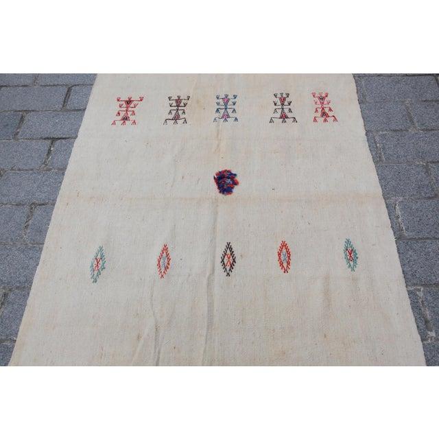 Anatolian Turkish Kilim - 10'11'' x 3'8'' - Image 3 of 11
