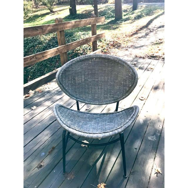 Mid Century Modern Salterini Clam Shell Chair For Sale - Image 10 of 10