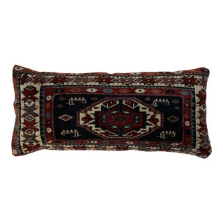 Hand Woven Kazak Rug Pillow For Sale