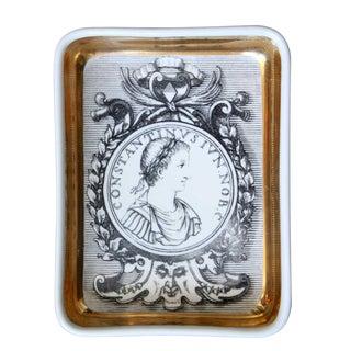 Vintage Fornasetti Profili Romani Soap Dish