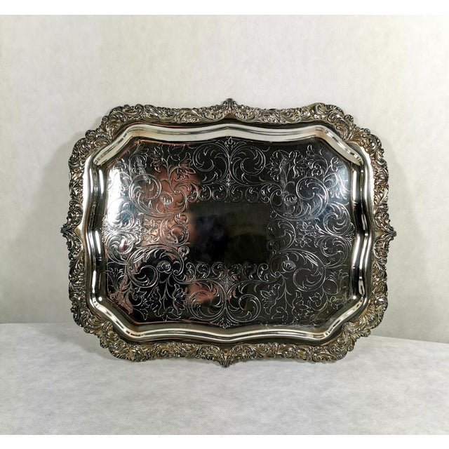 Old Sheffield Plate Dome Shaped Dish Cover With Tray William IV 1835 - 2 Pieces For Sale - Image 4 of 12