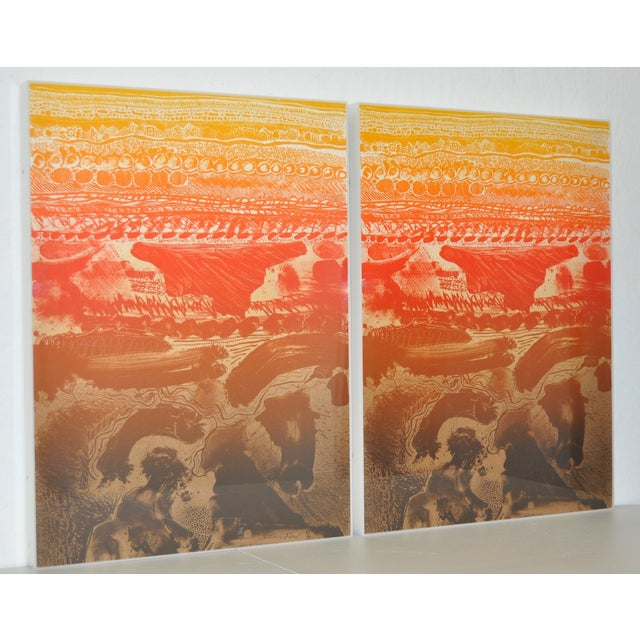 Arthur Secunda Double Lithograph C.1970s - Pair - Image 2 of 6