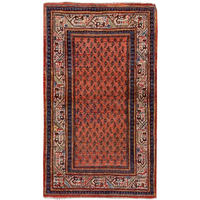 "Persian Hamadan Rug, 2'8"" x 4'5"" For Sale - Image 5 of 5"