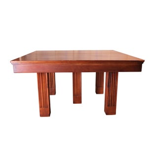 Square Mahogany Banquet Table Preview