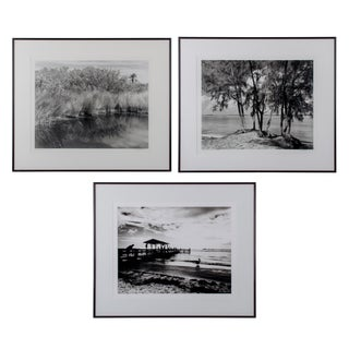 Sanibel Island Silver Gelatin Photographs - Set of 3 For Sale